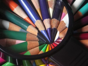 Magnified Colored Pencils, by Caroline Yoachim